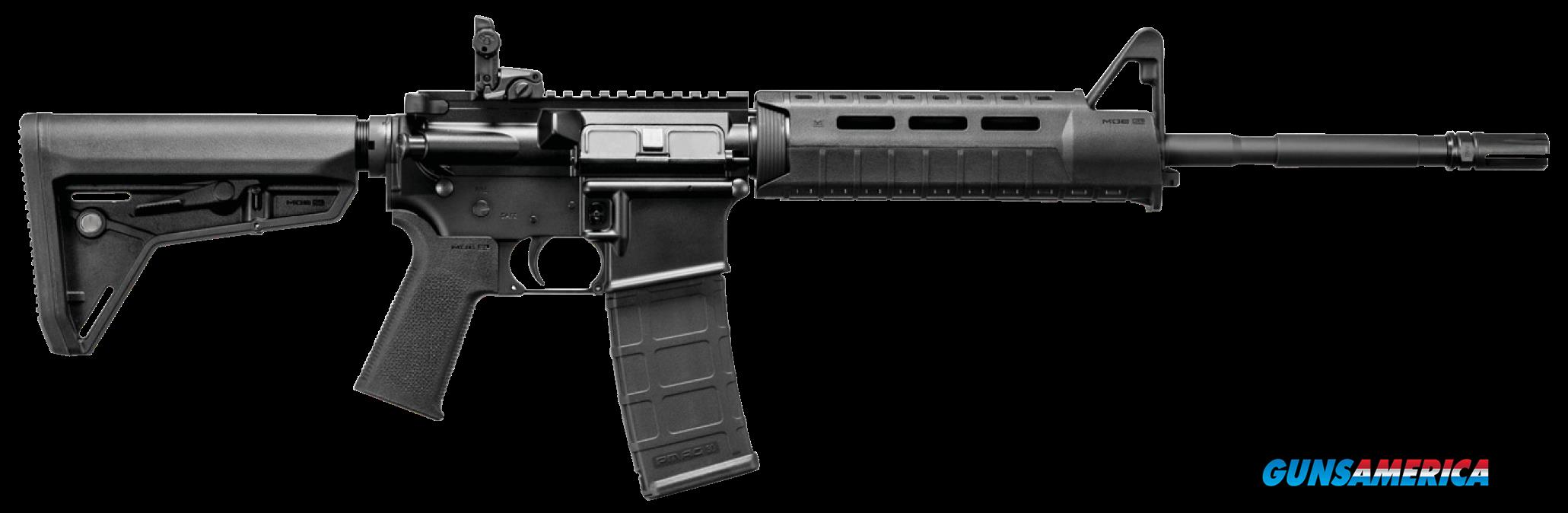 "DPMS 60529 Moe Warrior Semi-Automatic 223 Remington/5.56 NATO 16"" 30+1 Magpul MOE SL Black Stk Black  Guns > Rifles > DPMS - Panther Arms > Complete Rifle"