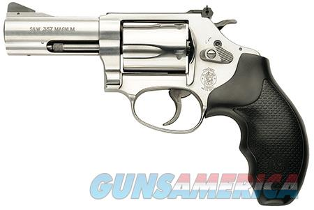 """Smith & Wesson 162430 60  Single/Double 357 Magnum 3"""" 5 Black Synthetic Stainless  Guns > Pistols > Smith & Wesson Revolvers > Pocket Pistols"""