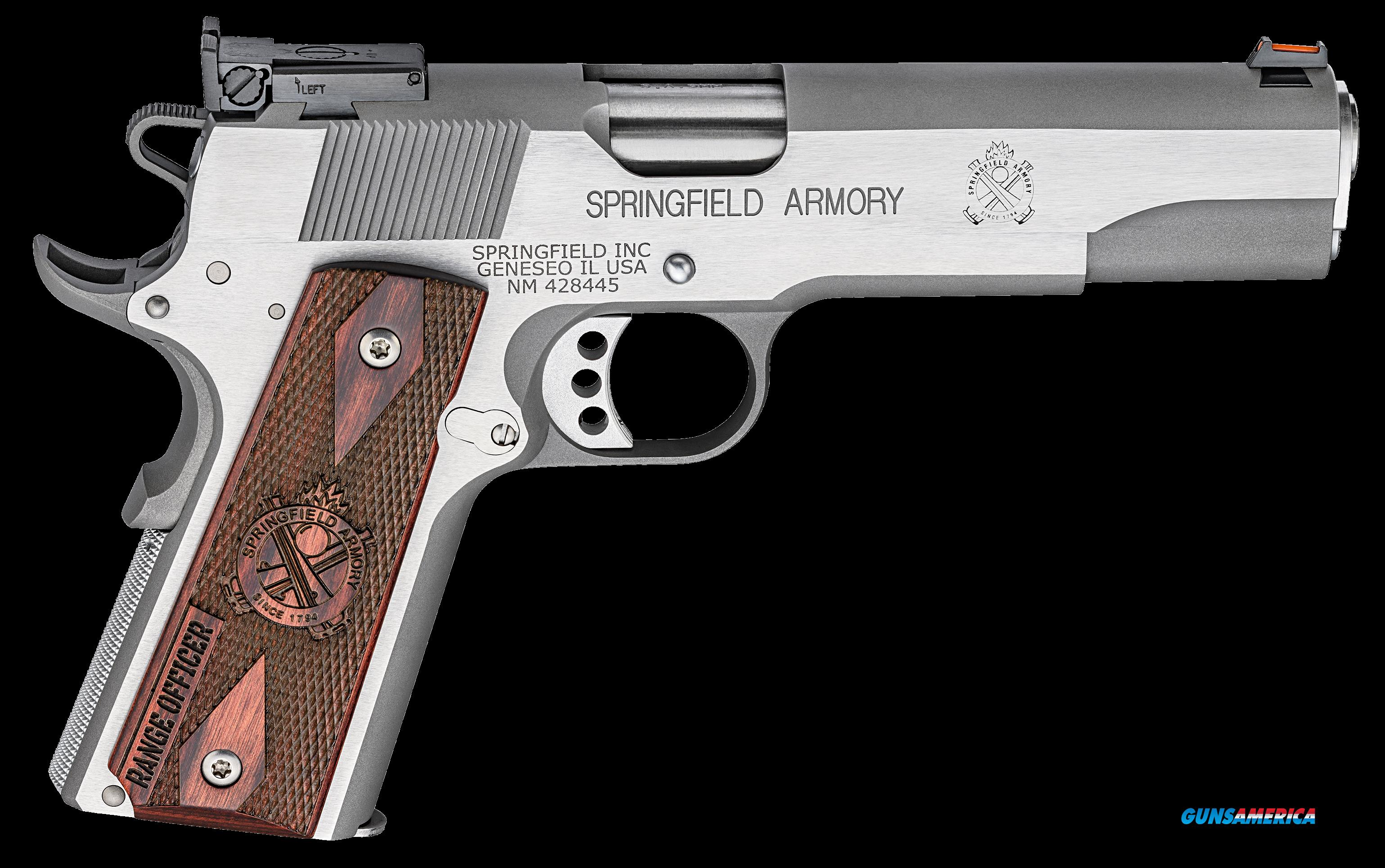 "Springfield Armory PI9122L 1911 Single 9mm 5"" 9+1 Cocobolo Grip Stainless Steel  Guns > Pistols > S Misc Pistols"