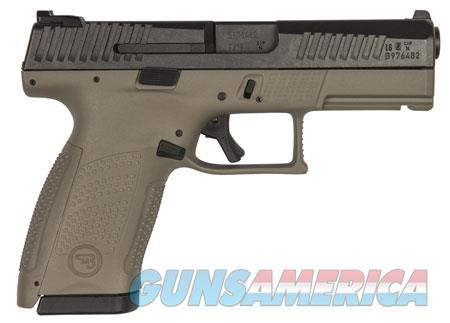 "CZ 01521 P-10 C FDE 9mm Luger Double 4.02"" 10+1 Flat Dark Earth Interchangeable Backstrap Grip Black  Guns > Pistols > C Misc Pistols"