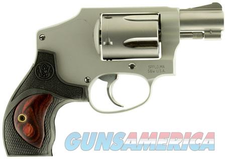 """Smith & Wesson 10186 642 Performance Center Double 38 Special +P 1.875"""" 5 Black Rubber w/Wood Insert  Guns > Pistols > Smith & Wesson Revolvers > Small Frame ( J )"""