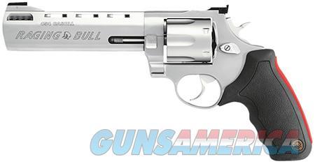 "Taurus 2454069M 454 Raging Bull 454 Casull 6.5"" 5rd Adj Sight Rubber Grip SS  Guns > Pistols > Taurus Pistols > Revolvers"