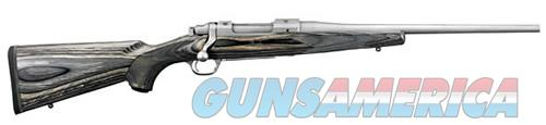 Ruger HAWKEYE COMPACT 7MM08 SS/LAM 17111  BLK/GRAY LAMINATE  Guns > Rifles > R Misc Rifles
