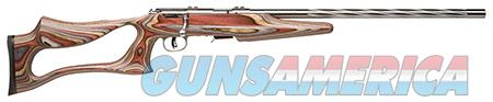 "Savage 96771 93R17 BSEV Bolt 17 HMR 21"" 5+1 Laminate Thumbhole Stk Stainless Steel  Guns > Rifles > Savage Rifles > Accutrigger Models > Sporting"