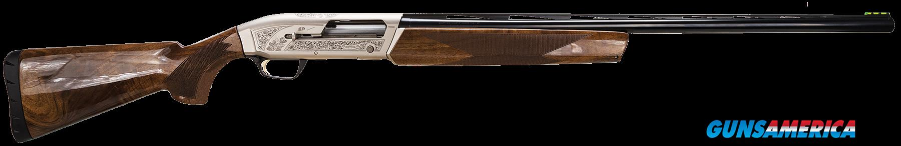 "Browning 011616303 Maxus Semi-Automatic 12 Gauge 30"" 3"" Turkish Walnut Stk Nickeled Aluminum Alloy  Guns > Shotguns > B Misc Shotguns"