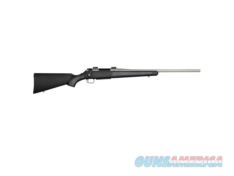 "T/C Arms 10175537 Venture Bolt 300 Win Mag 24"" 3+1 Synthetic w/Rubber Panels Black Stk Silver  Guns > Rifles > Thompson Center Rifles > Venture"