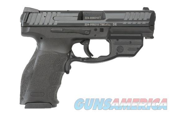 """HK 81000377 VP9 Crimson Trace Red  9mm Luger Double 4.09"""" 15+1 Black Interchangeable Backstrap Grip  Guns > Pistols > H Misc Pistols"""