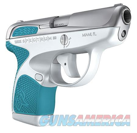 "Taurus 1007039320 Spectrum  380 Automatic Colt Pistol (ACP) Double 2.8"" 6+1/7+1 White Polymer Frame  Guns > Pistols > TU Misc Pistols"