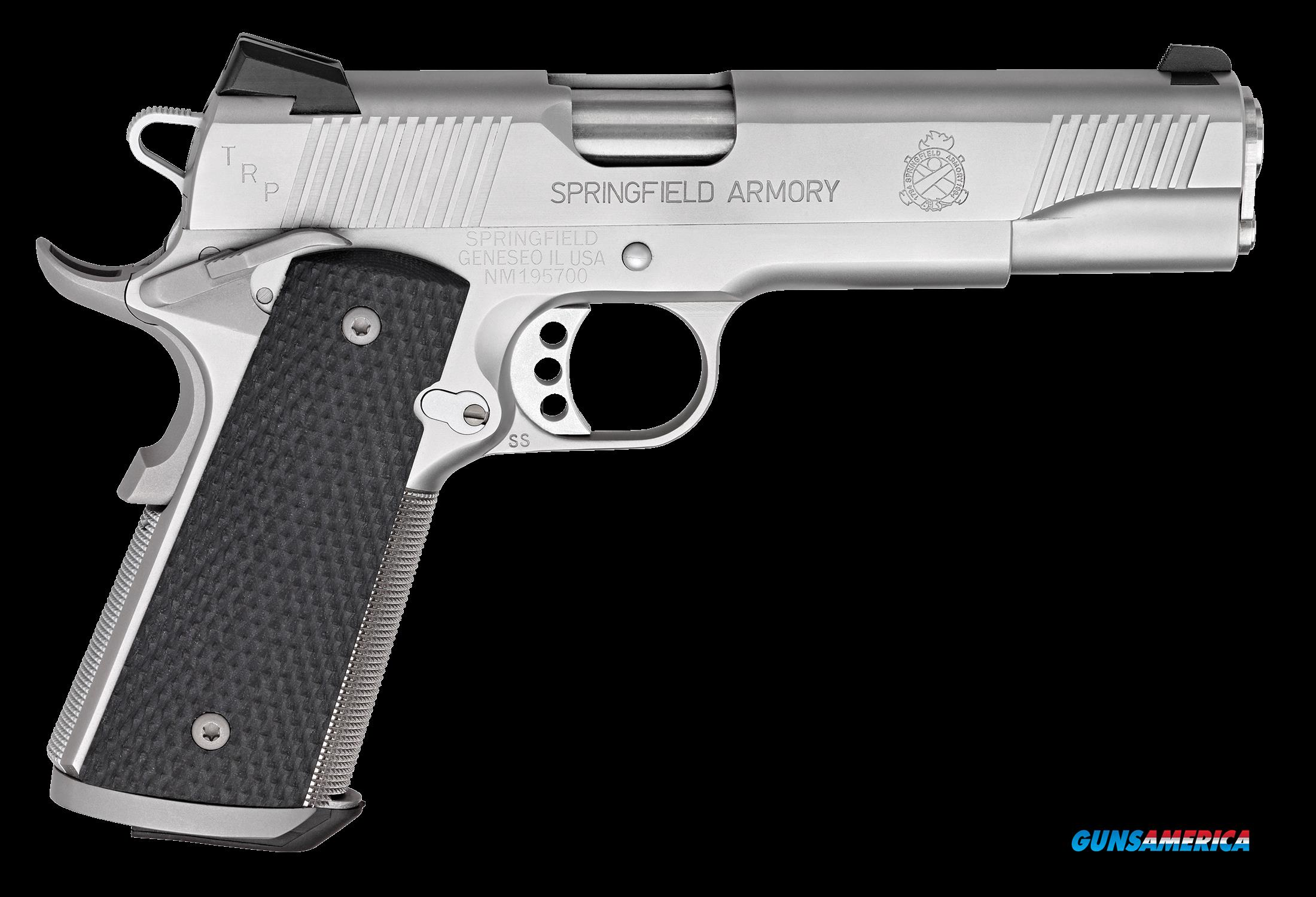 "Springfield Armory PC9107L 1911 Single 45 ACP 5"" 7+1 Black G10 Grip Stainless Steel  Guns > Pistols > S Misc Pistols"