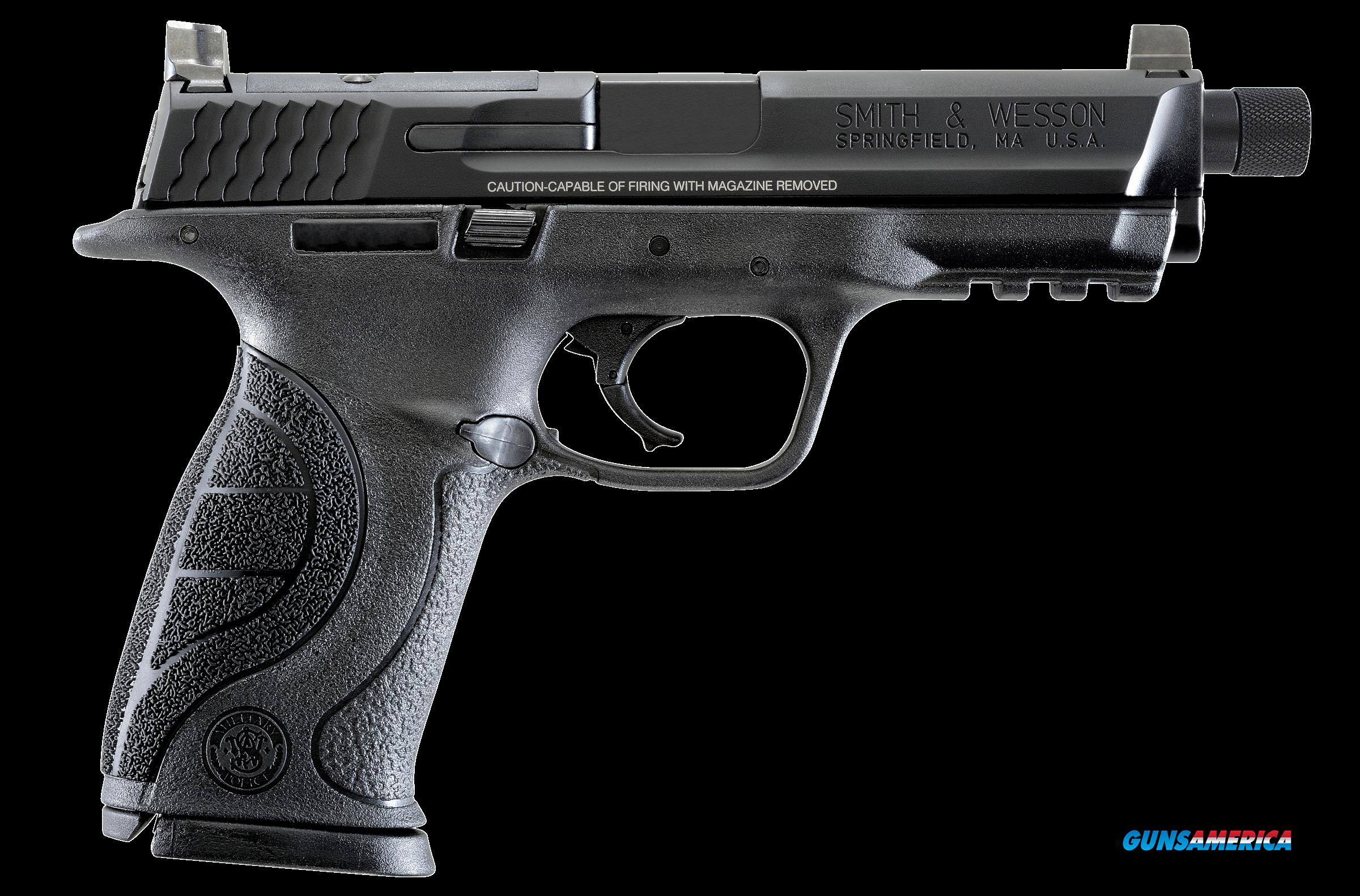 "Smith & Wesson 10268 M&P 9 Pro with C.O.R.E Double 9mm 4.3"" Threaded 17+1 Black Polymer Grip/Frame  Guns > Rifles > Smith & Wesson Rifles > M&P"