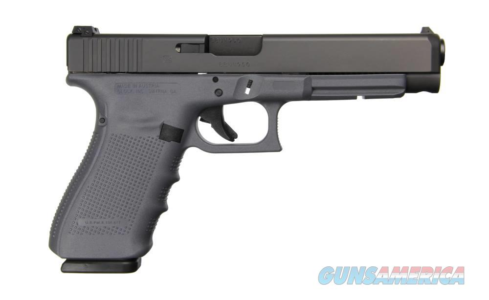 GLOCK G41 G4 GRAY 45ACP 10+1 AS 3-10RD MAGS | ACCESSORY RAIL  Guns > Pistols > G Misc Pistols