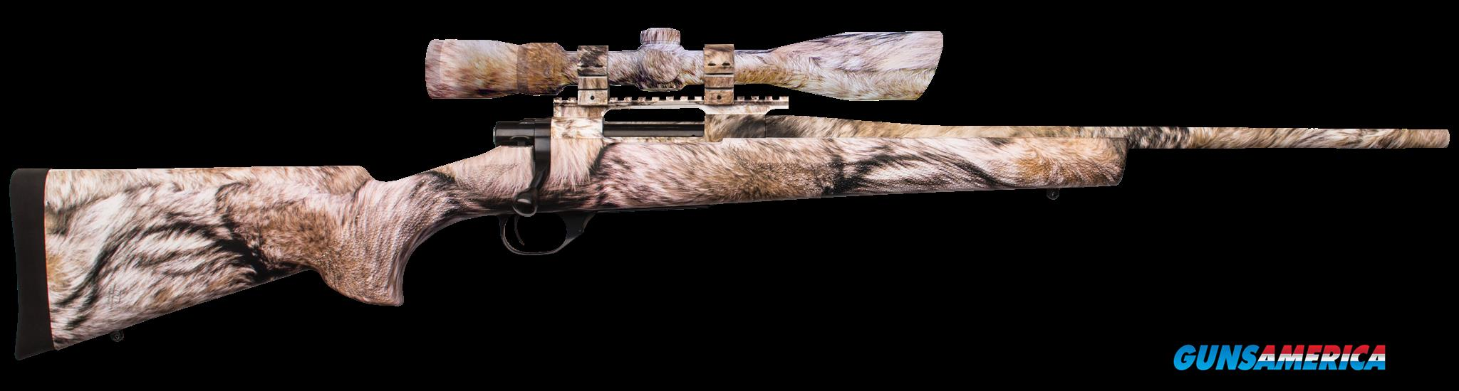 "Howa HGR90227YOTE Hogue Gameking Scope Package Bolt 223 Remington 20"" HB 5+1 Hogue Overmolded  Guns > Rifles > H Misc Rifles"
