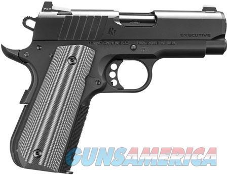 "Remington Firearms 96493 1911 Ultralight Executive 45 ACP Single 3.50"" 7+1 Gray G10 Grip Black PVD  Guns > Pistols > Remington Pistols - Modern > 1911"