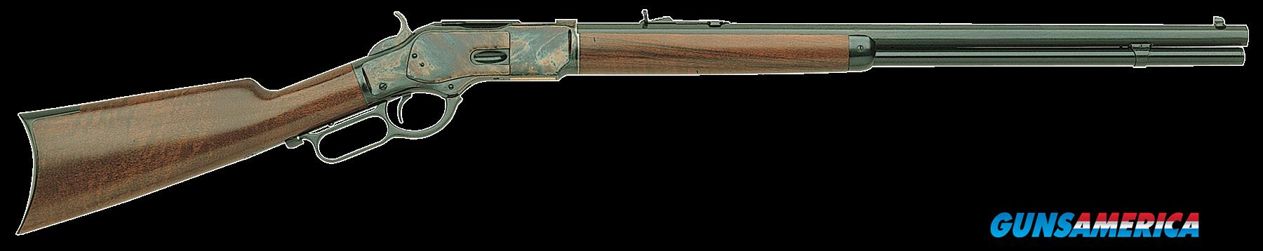 "Taylors and Company 200E 1873 Sporting Lever 45 Colt (LC) 20"" 10+1 Walnut Stk Blued Barrel/Case  Guns > Rifles > Taylors & Co. Rifles > Winchester Lever Type"
