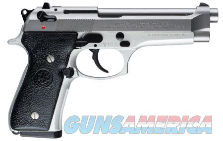 "Beretta USA JS92F520 92 FS Italy Inox 9mm Luger 4.90"" 10+1 Stainless Steel Black Synthetic Grip  Guns > Pistols > B Misc Pistols"