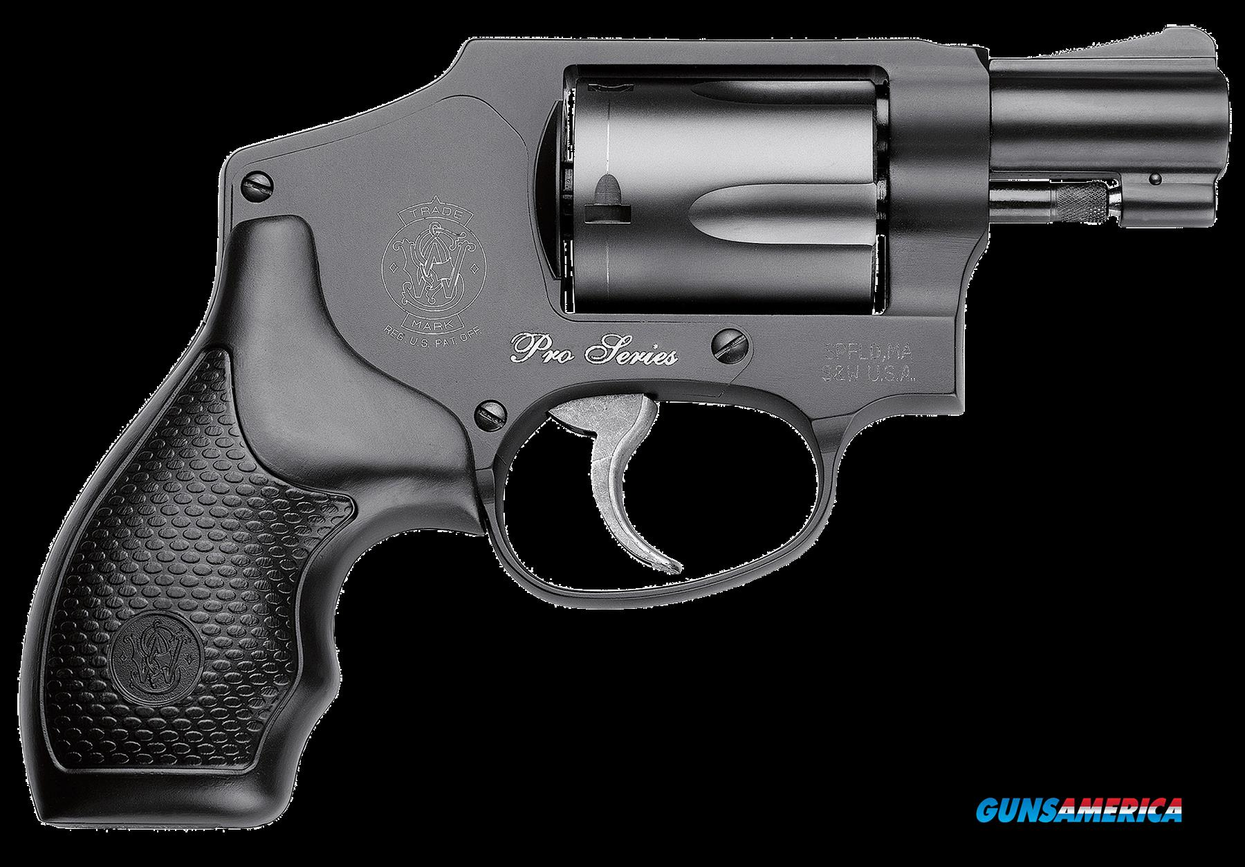 "Smith & Wesson 178041 442 Pro with Moon Clip Double 38 Special 1.875"" 5 Black Synthetic Black  Guns > Pistols > S Misc Pistols"