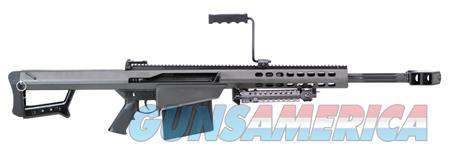 """Barrett 13318 M82 A1  Semi-Automatic 50 Browning Machine Gun (BMG) 20"""" 10+1 Fixed Black Stk Black  Guns > Rifles > Barrett Rifles"""