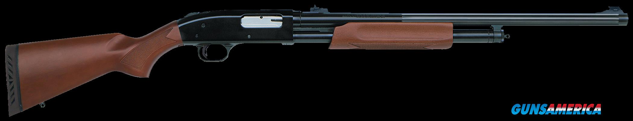 "Mossberg 55244 500 Pump 12 Gauge 24"" 3"" Wood Stk Blued Rcvr  Guns > Shotguns > MN Misc Shotguns"