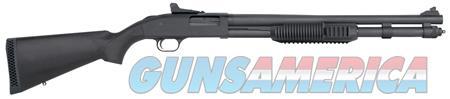 "Mossberg 50670 590 Tactical Tri-Rail Blued Pump 12 Gauge 20"" 3"" 8+1 Black Fixed Synthetic Stock  Guns > Shotguns > Mossberg Shotguns > Pump > Sporting"