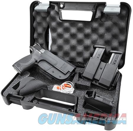 """Smith & Wesson 209331 M&P 9 with Carry and Range Kit Double 9mm Luger 4.25"""" 17+1 Black  Guns > Pistols > Smith & Wesson Pistols - Autos > Polymer Frame"""