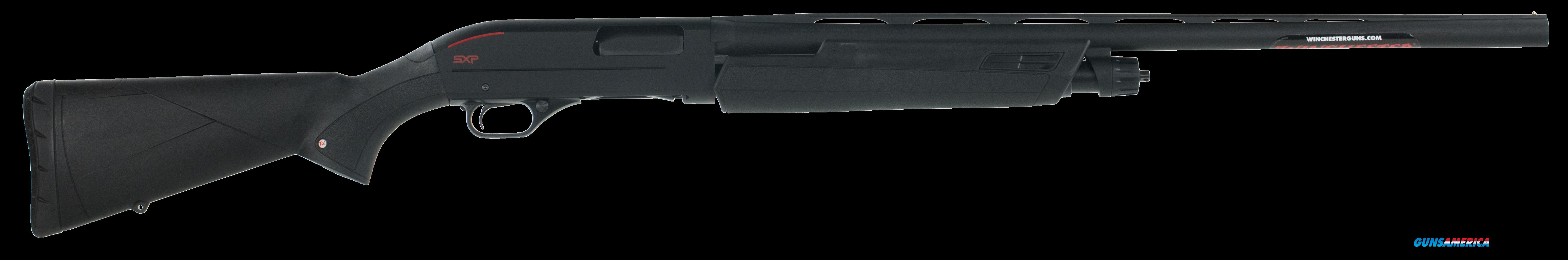"Winchester Guns 512251391 SXP 12 Gauge 26"" 3"" Blk Synthetic Stk Blk Rcvr  Guns > Shotguns > W Misc Shotguns"