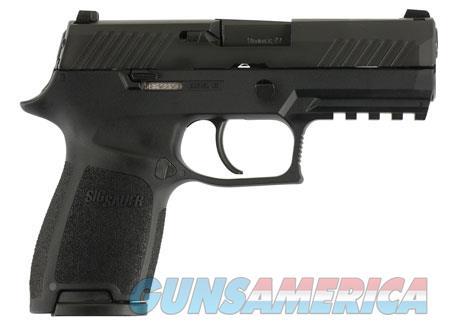 "Sig Sauer 320C9B10 P320 Compact 9mm Luger 3.90"" 10+1 Black Nitron Stainless Steel Black Polymer Grip  Guns > Pistols > Sig - Sauer/Sigarms Pistols > P239"