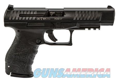 "Walther Arms 2813735 PPQ M2  9mm Luger Double 5"" 10+1 Black Interchangeable Backstrap Grip Black  Guns > Pistols > W Misc Pistols"