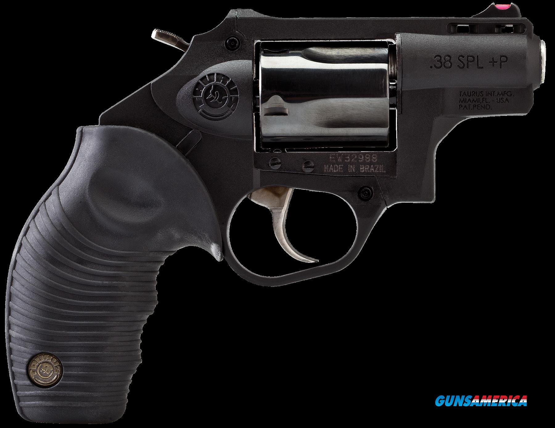 "Taurus 2850021PFS 85 Protector Single/Double 38 Special +P 2.5"" 5 Black Polymer Grip Polymer Frame  Guns > Pistols > Taurus Pistols > Revolvers"