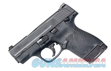 "Smith & Wesson 11812 M&P 40 Shield M2.0 40 S&W Double 3.10"" 6+1/7+1 Black Polymer Grip/Frame Black  Guns > Pistols > Smith & Wesson Pistols - Autos > Shield"