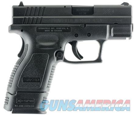 "Springfield Armory XD9802HC XD  40 S&W Double 3"" 9+1/12+1 Black Polymer Grip/Frame Grip Black  Guns > Pistols > Springfield Armory Pistols > XD (eXtreme Duty)"