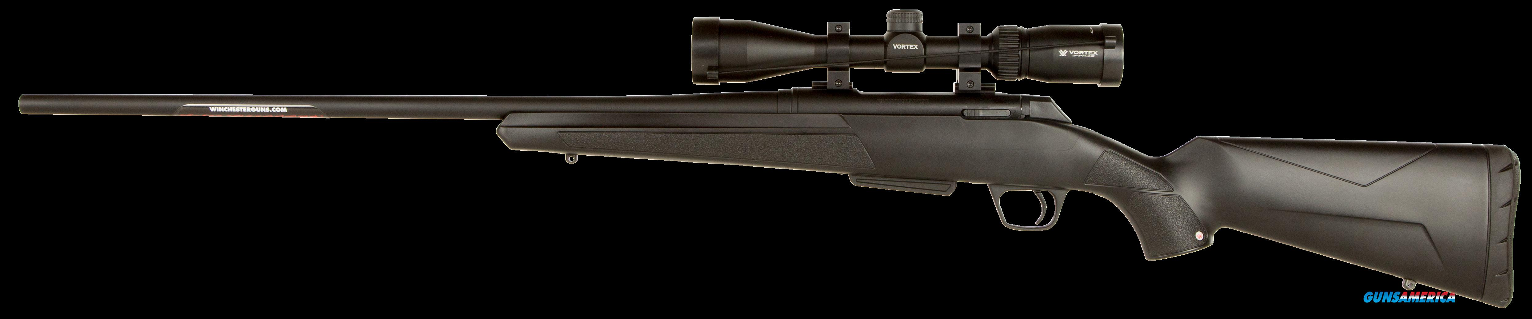 "Winchester Guns 535705277 XPR Vortex Scope Combo Bolt 325 WSM 24"" 3+1 Synthetic Black Stk Blued  Guns > Rifles > W Misc Rifles"