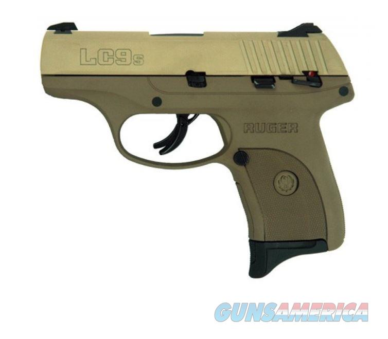Ruger LC9S 9MM FULL FDE 7+1 AS SFTY 3258 | FDE SLIDE  FRAME  Guns > Pistols > R Misc Pistols
