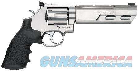 """Smith & Wesson 170320 629 Competitor Single/Double 44 Remington Magnum 6"""" 6 rd Black Hogue Rubber  Guns > Pistols > Smith & Wesson Revolvers > Model 629"""