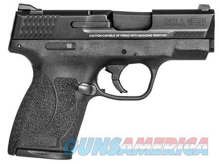 "Smith & Wesson 11531 M&P 45 Shield 45 ACP Double 3.3"" 6+1/7+1 Black Polymer Grip/Frame Black  Guns > Pistols > Smith & Wesson Pistols - Autos > Shield"