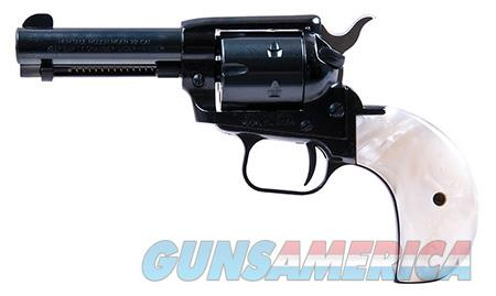 """Heritage Mfg RR22MB3BHPRL Rough Rider Small Bore  22LR,22 WMR 6 Round 3.50"""" Blued Mother of Pearl  Guns > Pistols > H Misc Pistols"""
