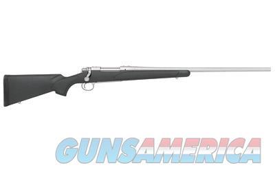 """Remington Firearms 27265 700 SPS Stainless Bolt 7mm-08 Remington 24"""" 4+1 Synthetic Black/Gray Stk  Guns > Rifles > Remington Rifles - Modern > Model 700 > Sporting"""