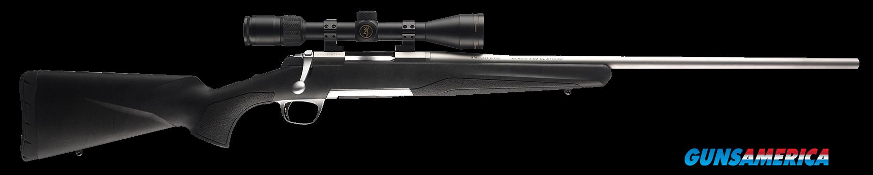 "Browning 035202225 X-Bolt Stainless Stalker 280 Rem 22"" 4+1 Comp w/Dura-Touch  Guns > Rifles > Browning Rifles > Bolt Action > Hunting > Stainless"