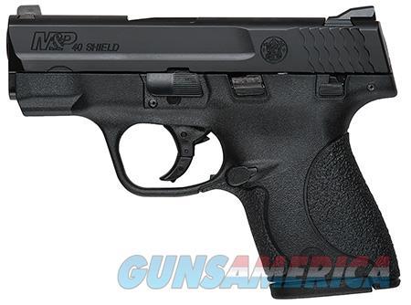 "Smith & Wesson 180050 M&P 40 Shield *MA Compliant* 40 S&W Double 3.1"" 6+1/7+1 Black Polymer Grip  Guns > Pistols > Smith & Wesson Pistols - Autos > Shield"