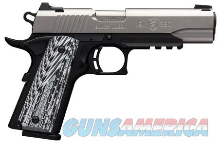 Browning 051925492 1911-380 Black Label Pro Compact with Rail Single 380 Automatic Colt Pistol (ACP)  Guns > Pistols > Browning Pistols > Other Autos