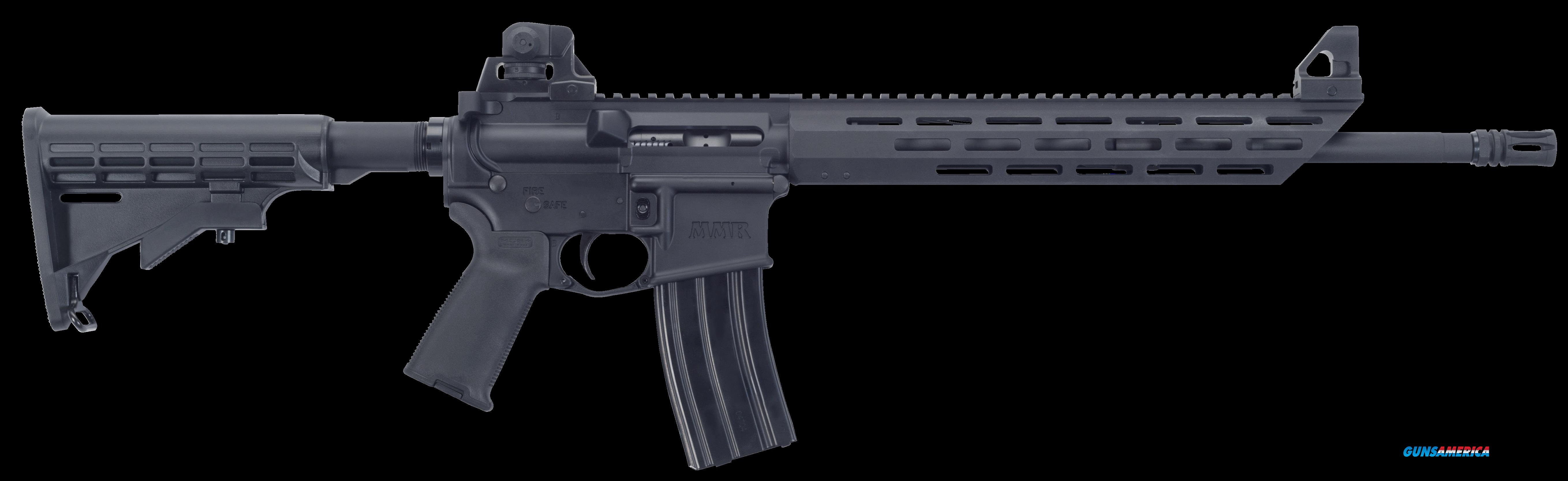 "Mossberg 65074 MMR Carbine Semi-Automatic 223 Rem/5.56 NATO 16.2"" 30+1 6-Position Black Stk Black  Guns > Rifles > Mossberg Rifles > MMR"