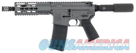 "Diamondback DB15PTG7 DB15 AR Pistol 223 Rem,5.56 NATO 7.50"" 30+1 Gray Receiver/Black Barrel Black  Guns > Pistols > Diamondback Pistols"