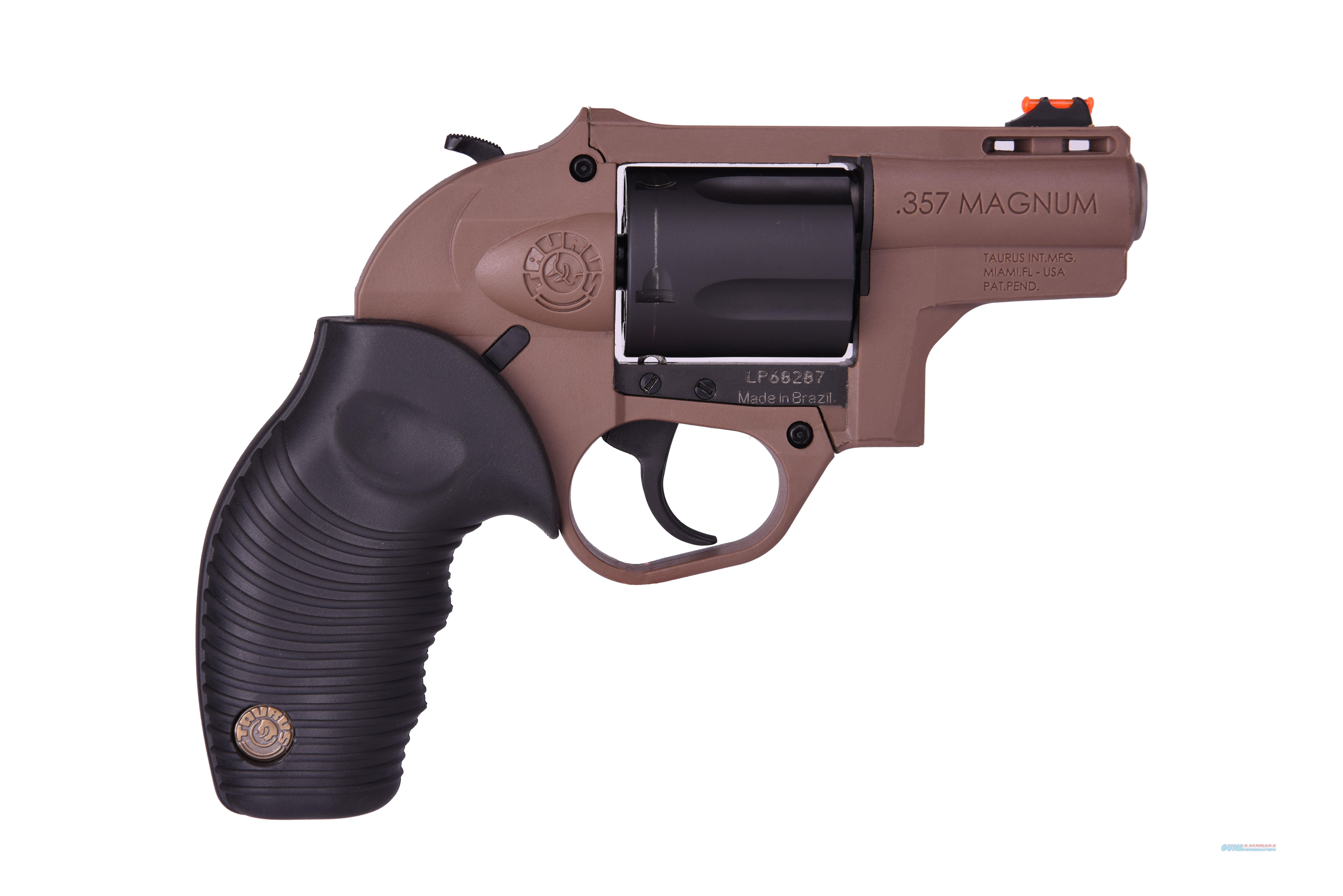 Taurus 605 POLY 357M BLK/BROWN 5SH 2 2-605021B  Guns > Pistols > TU Misc Pistols