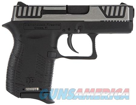 "Diamondback DB380SL DB380 Micro-Compact 380 ACP 2.80"" 6+1 Black Black/Stainless Black Polymer Grip  Guns > Pistols > Diamondback Pistols"