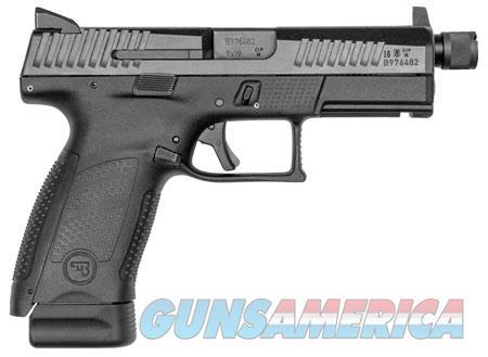 """CZ 01523 P-10 C Suppressor-Ready Double 9mm Luger 4.61"""" TB 10+1 NS Black Interchangeable Backstrap  Guns > Pistols > C Misc Pistols"""