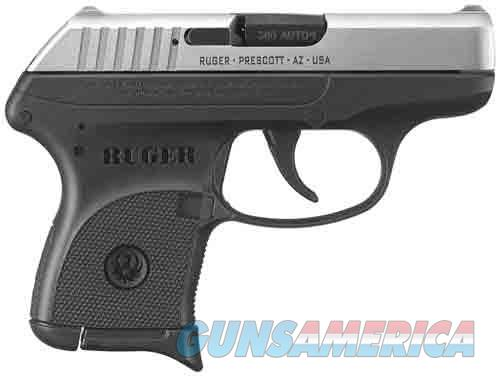 Ruger RUGER LCP .380ACP 6-SHOT FS STAINLESS SLIDE BLACK FRAME* KLCP  Guns > Pistols > Ruger Semi-Auto Pistols > LCP