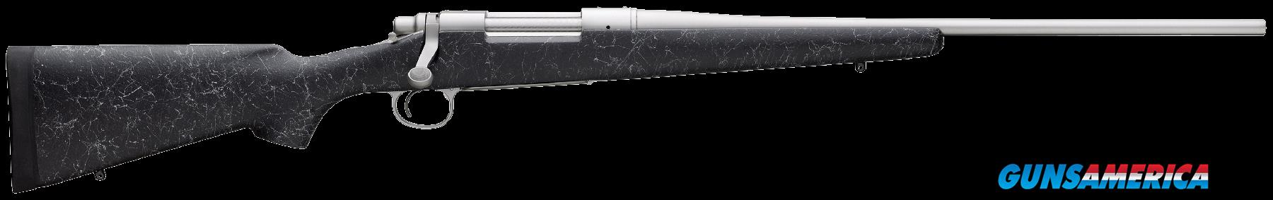 "Remington Firearms 84272 700 Mountain SS Bolt 25-06 Rem 22"" 4+1 Synthetic Black Stk Stainless Steel  Guns > Rifles > Remington Rifles - Modern > Model 700 > Sporting"
