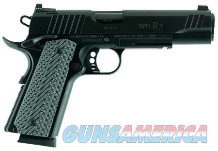 "Remington Firearms 96385 1911 R1 Tactical 45 ACP Single 5"" 8+1 Black G10 Grip Black Stainless Steel  Guns > Pistols > R Misc Pistols"