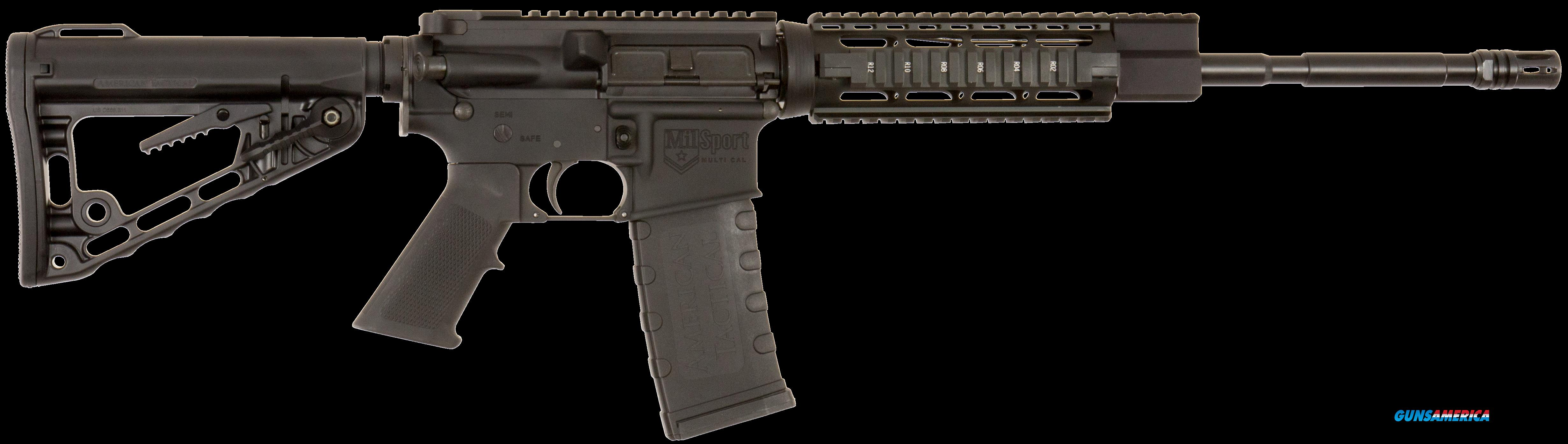 "ATI G15MSQ Mil-Sport M4 Semi-Automatic 223 Remington/5.56 NATO 16"" 30+1 6-Position Blk Stk Blk  Guns > Rifles > A Misc Rifles"