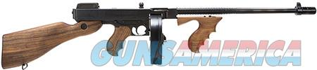 "Thompson T150D 1927A-1 Deluxe Semi-Automatic 45 ACP 16.5"" 50+1/20+1 American Walnut Stk Blued  Guns > Rifles > Auto Ordnance Rifles"