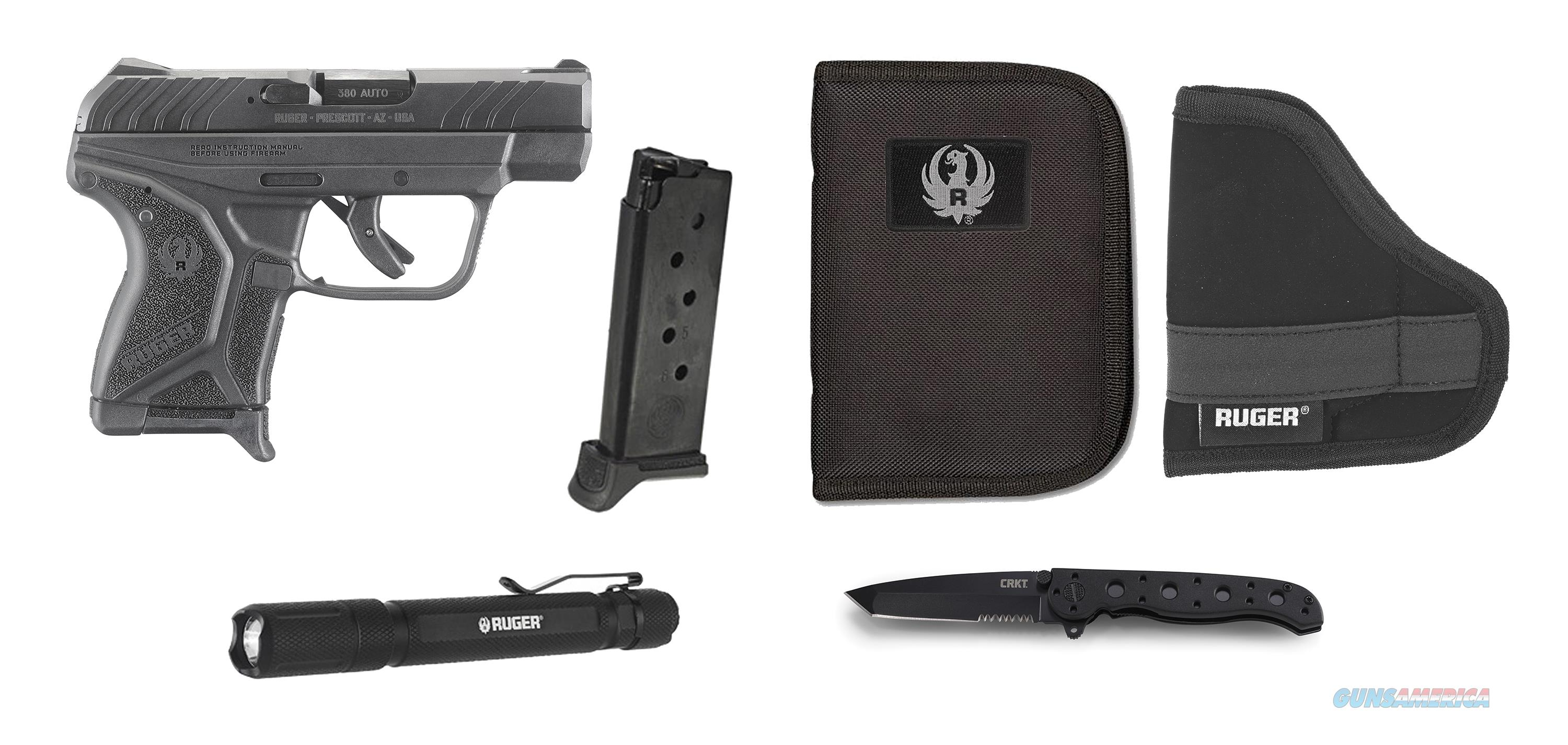 Ruger LCP II EDC 380ACP BL/POLY 6+1 3784  Guns > Pistols > R Misc Pistols